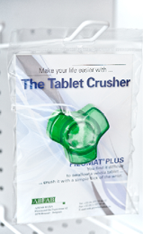 Packaging of the Tablet Crusher